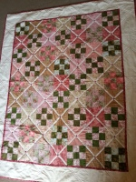 Finished at last - garden path quilt